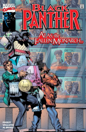 Black Panther Vol.3 (Marvel - 1998) -19- Alas, the Fallen Monarch...