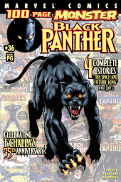 Black Panther Vol.3 (Marvel - 1998) -36- Celebrating T'Challa's 35th Anniversary!