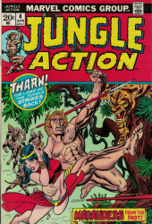 Jungle Action Vol.2 (Marvel - 1972) -4- Marauders from the Past!