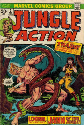 Jungle Action Vol.2 (Marvel - 1972) -3- Elephant Charge!