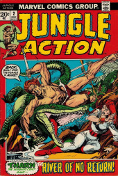 Jungle Action Vol.2 (Marvel - 1972) -2- The River of No Return!