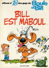 Boule et Bill -18a1981/11- Bill est maboul