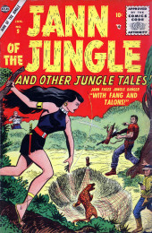 Jann of the Jungle (Atlas - 1955) -9- With Fang and Talons!