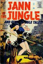 Jann of the Jungle (Atlas - 1955) -17- The Drum Beats at Midnight!
