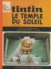 Tintin - Pastiches, parodies & pirates -45PIR- Tintin et le Temple du Soleil