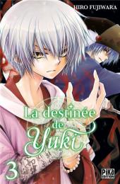 La destinée de Yuki -3- Tome 3