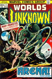 Worlds Unknown (Marvel - 1973) -4- Arena!