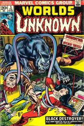 Worlds Unknown (Marvel - 1973) -5- Black Destroyer!