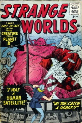 Strange Worlds (Marvel - 1958) -3- I Was Face to Face with the Creature From Planet X!