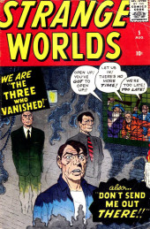 Couverture de Strange Worlds (Marvel - 1958) -5- The Three Who Vanished!