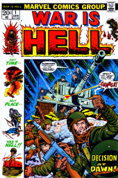 War is Hell (Marvel - 1973) -1- Decision At Dawn!