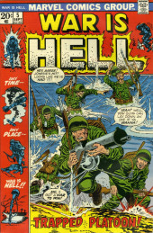 War is Hell (Marvel - 1973) -5- Trapped Platoon!