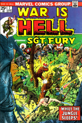 War is Hell (Marvel - 1973) -7- While the Jungle Sleeps!