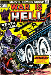 War is Hell (Marvel - 1973) -10- Death is a 30-Ton Tank!