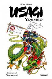 Usagi Yojimbo (en couleur) -2- Livre second : Samouraï