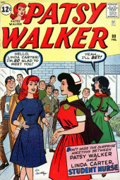 Patsy Walker (Timely/Atlas - 1945) -99- Patsy Walker and Linda Carter, Student Nurse