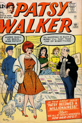 Patsy Walker (Timely/Atlas - 1945) -101- Patsy Becomes a Millionairess!
