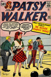Patsy Walker (Timely/Atlas - 1945) -102- The Blonde Tempest Twins!