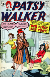 Patsy Walker (Timely/Atlas - 1945) -105- Her First Fur Coat!