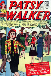 Patsy Walker (Timely/Atlas - 1945) -108- When a Doll Needs a Date!