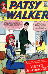 Patsy Walker (Timely/Atlas - 1945) -110- Patsy's Summer Job