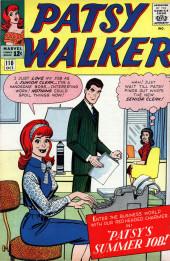 Patsy Walker (Timely/Atlas - 1945) -110- Patsy's Summer Job