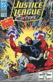 Justice League Europe (1989) -17- The Extremist Vector, Part Three: On the Brink!