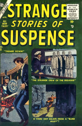 Strange Stories of Suspense (Marvel - 1955) -8- Thumbs Down!; The Strange Crew of the Pegasus!; Is There Any Escape from a