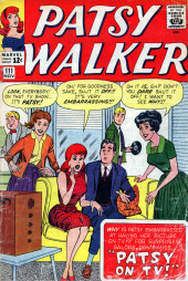 Patsy Walker (Timely/Atlas - 1945) -111- Patsy on TV!