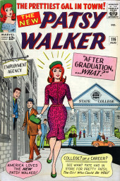 Patsy Walker (Timely/Atlas - 1945) -116- After Graduation... What?