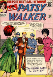 Patsy Walker (Timely/Atlas - 1945) -118- The Wrong Man for Patsy!