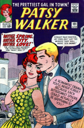Patsy Walker (Timely/Atlas - 1945) -121- Another Spring, Another City, Another Love!