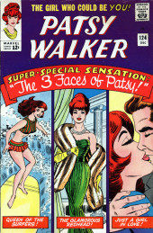 Patsy Walker (Timely/Atlas - 1945) -124- The 3 Faces of Patsy