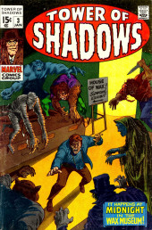 Tower of Shadows (Marvel - 1969) -3- It Happens at Midnight in the Wax Museum!