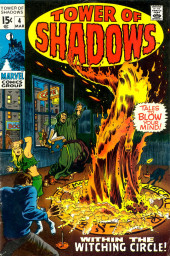 Tower of Shadows (Marvel - 1969) -4- Within the Witching Circle!