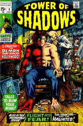 Tower of Shadows (Marvel - 1969) -5- I Created... the Demon That Stalks Hollywood!