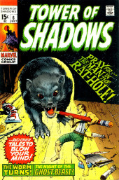Tower of Shadows (Marvel - 1969) -6- Pray for... the Man in the Rat Hole!