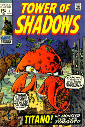 Tower of Shadows (Marvel - 1969) -7- Titano! The Monster That Time Forgot!!