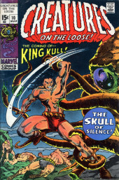 Creatures on the Loose (Marvel - 1971) -10- The Skull of Silence!