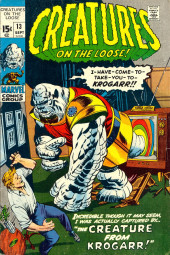 Creatures on the Loose (Marvel - 1971) -13- The Creature From Krogarr!