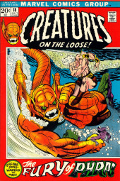 Creatures on the Loose (Marvel - 1971) -18- The Fury of Phra!