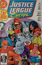 Justice League Europe (1989) -1- How Ya Gonna Keep 'Em Down on the Farm After They've Seen Paree?