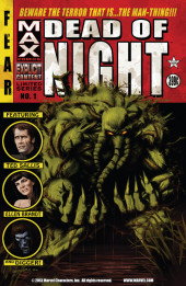 Dead of Night Featuring Man-Thing (Marvel MAX -2008) -1- Beware the Terror That Is... The Man-Thing!!!