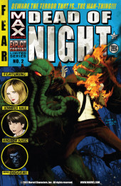 Dead of Night Featuring Man-Thing (Marvel MAX -2008) -2- (sans titre)