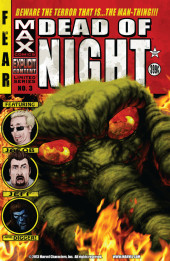 Dead of Night Featuring Man-Thing (Marvel MAX -2008) -3- (sans titre)