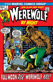Couverture de Werewolf by Night Vol.1 (Marvel - 1972) -1- Full Moon Rise -- Werewolf Kill!