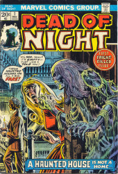 Dead of Night Vol.1 (Marvel - 1973) -1- A Haunted House Is Not a Home...