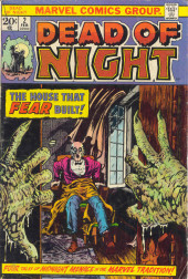 Dead of Night Vol.1 (Marvel - 1973) -2- The House That Fear Built!