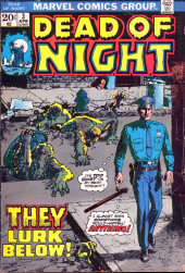Couverture de Dead of Night Vol.1 (Marvel - 1973) -3- They Lurk Below!
