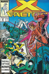 X-Factor (Marvel comics - 1986) -23- You Say You Want Some Evolution?